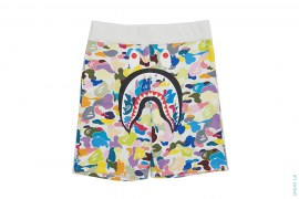 Multi Camo Shark Sweatshorts by A Bathing Ape