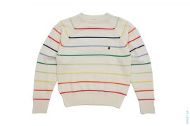 Baby Milo Rainbow Border Sweater by A Bathing Ape