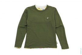 Multi Camo Reversible Sta Long Sleeve Pocket Tee by A Bathing Ape