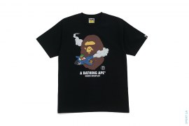 Apehead Flyboy Airplane Tee by A Bathing Ape x Hebru Brantley