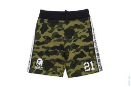 Soccer 1st Camo Sweatshorts by A Bathing Ape