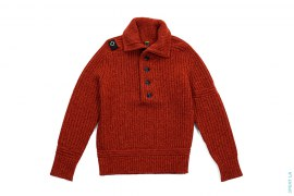 Lambswool Ribbeb Jacket by MA.STRUM