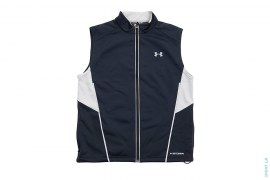 Polyester 3m Trim Zip Up Vest by Under Armor