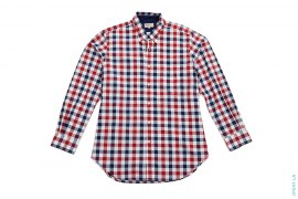 Checkered Cotton Casual Button-up Shirt by TM Lewin
