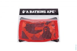 Color Camo Cotton Mouth Face Mask by A Bathing Ape