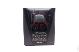 Collectible Vinyl Boba Fett Milo Doll by A Bathing Ape x Star Wars
