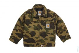 1st Camo Insulated Work Jacket by A Bathing Ape x Carhartt