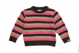Milo Border Knit Sweater by A Bathing Ape