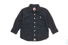 Jacquard Camo Button-Up Shirt by A Bathing Ape