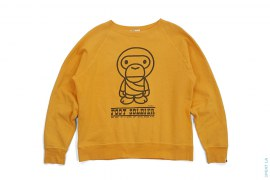 Baby Milo Foot Soldier Crewneck by A Bathing Ape