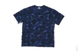 OG Color Camo Vintage Wash Waffle Thermal Tee by A Bathing Ape
