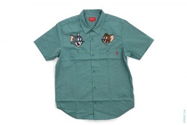 Short Sleeve Work Shirt by Supreme x Tom & Jerry