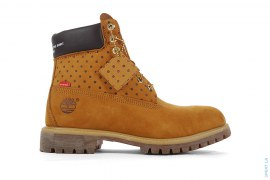 "6"" Premium Wheat Boot by Timberland x Supreme x Comme des Garcons"