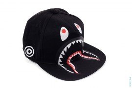 Shark Snapback Hat by A Bathing Ape