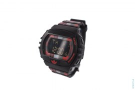 Plaid Digital Watch by Adidas