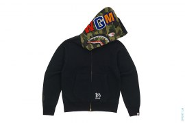 10th Anniverary Crystal WGM Shark Hoodie by A Bathing Ape
