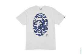 NFS ABC Camo Apehead Tee by A Bathing Ape