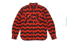 Digi Jack Elbow Patch Flannel by BBC/Ice Cream