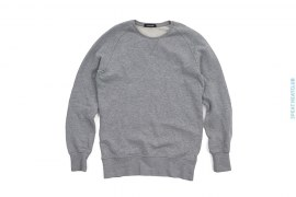 Raglan Custom Cut & Sew Crewneck Sweatshirt by Denham