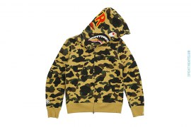 Ultimate 1st Camo PONR Shark Hoodie by A Bathing Ape
