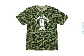 Ultimate Abc Camo College Logo Tee by A Bathing Ape
