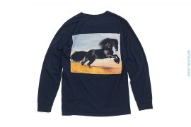 Black Stallion Long Sleeve Tee by Supreme