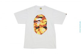 Classic Coming & Going Straight Through Apehead 1st Camo Tee by A Bathing Ape