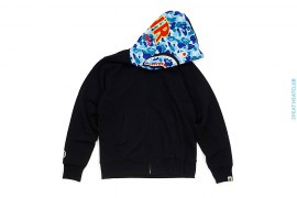 Ultimate ABC Camo Reversible PONR Shark Full Zip-Up Hoodie by A Bathing Ape