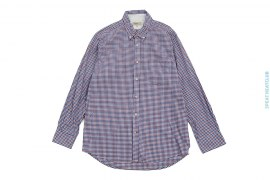 Cotton Small Checkered Button-up Shirt by TM Lewin