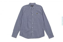 Cotton Checker Button-up Shirt by Lyle & Scott