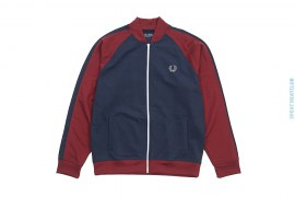 Sportswear Two Tone Track Jacket by Fred Perry