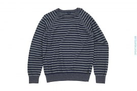 Lightweight Striped Crewneck Sweater by Paul Smith
