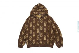 All Star Outline Full Zip Hoodie by A Bathing Ape x DC Comics