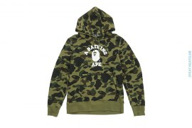 1st Camo College Logo Pullover by A Bathing Ape