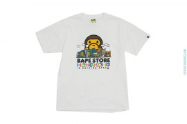 Bape Store Hong Kong Milo City Tee by A Bathing Ape