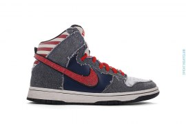 "Dunk High Premium SB ""Born In The USA"" by NikeSB"
