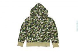 ABC Snoopy Camo Hoodie by A Bathing Ape x Peanuts