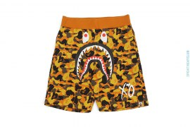 XO Camo Shark Sweatshorts by A Bathing Ape x The Weeknd