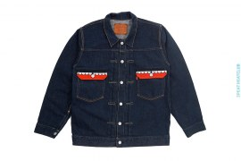 Chomper Pocket Denim Jacket by OriginalFake x Levi's