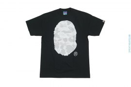 Color Camo Straight Through Apehead Tee by A Bathing Ape