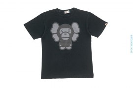 Milo Companion Tee by A Bathing Ape x Kaws