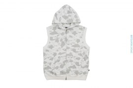 Color Camo Sleeveless Hoodie by A Bathing Ape