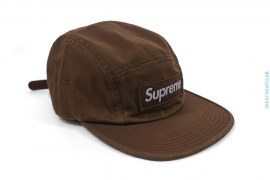 Moss Chino Twill Camp Cap by Supreme