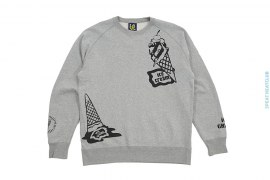 Icecream Logo Crewneck by BBC/Ice Cream