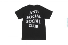 Logo Tee 2 by Anti Social Social Club