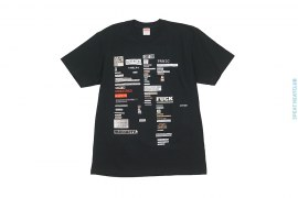 Cutouts Tee by Supreme