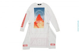 Paramount Zip-Off Longsleeve T-shirt by Hood By Air