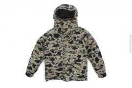 Psyche Camo Convertible Puff Down Jacket by A Bathing Ape