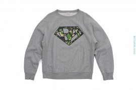 Bapeman Swarovski Crewneck Sweatshirt by A Bathing Ape