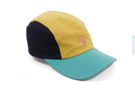Tri-Color Brain Logo Camp Cap by BBC/Ice Cream x NERD